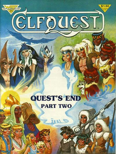 Book Cover Craft Quest : Covered ron mcvicar covers elfquest