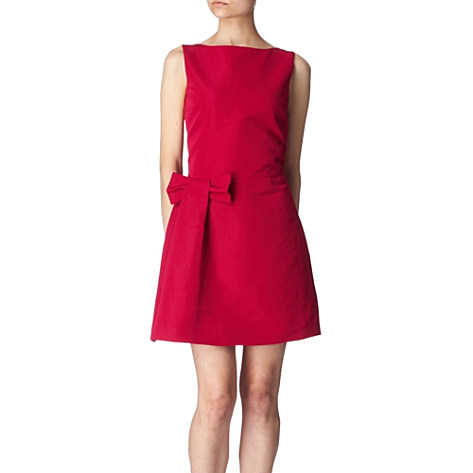 Red Valentino Bow Dress