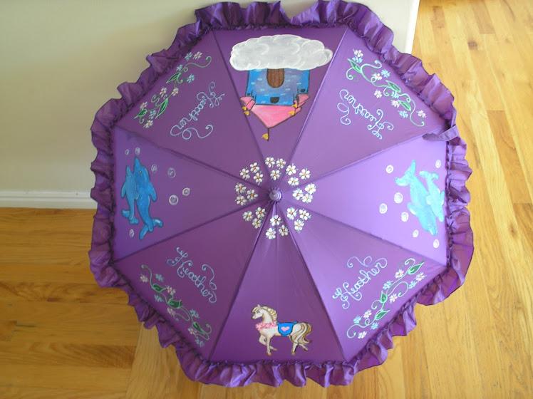 purple Heather parasol