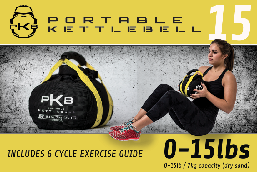 PKB The Portable Kettlebell #pkb