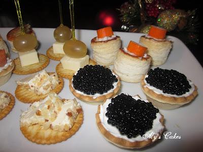 Aly 39 s cakes mis canap s favoritos for Canape de caviar