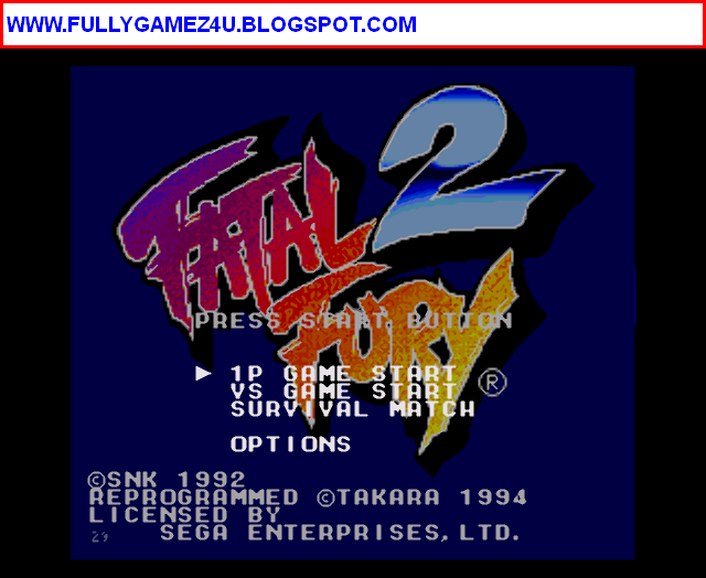 Download Fatal Fury 2 Game