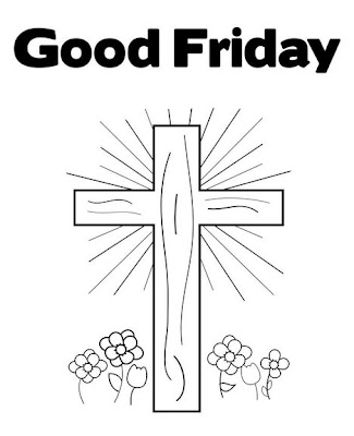 Free Coloring Pages: Good Friday Coloring Pages