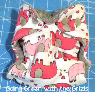 make your own cloth diapers tutorial finish