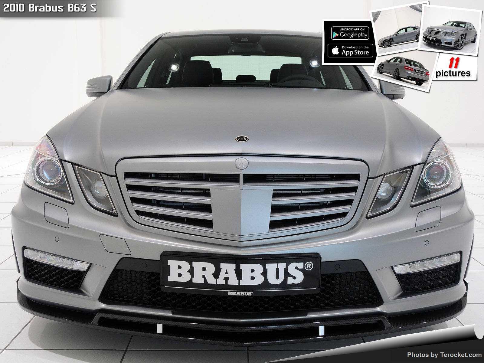 Hình ảnh xe ô tô Brabus B63 S 2010 & nội ngoại thất