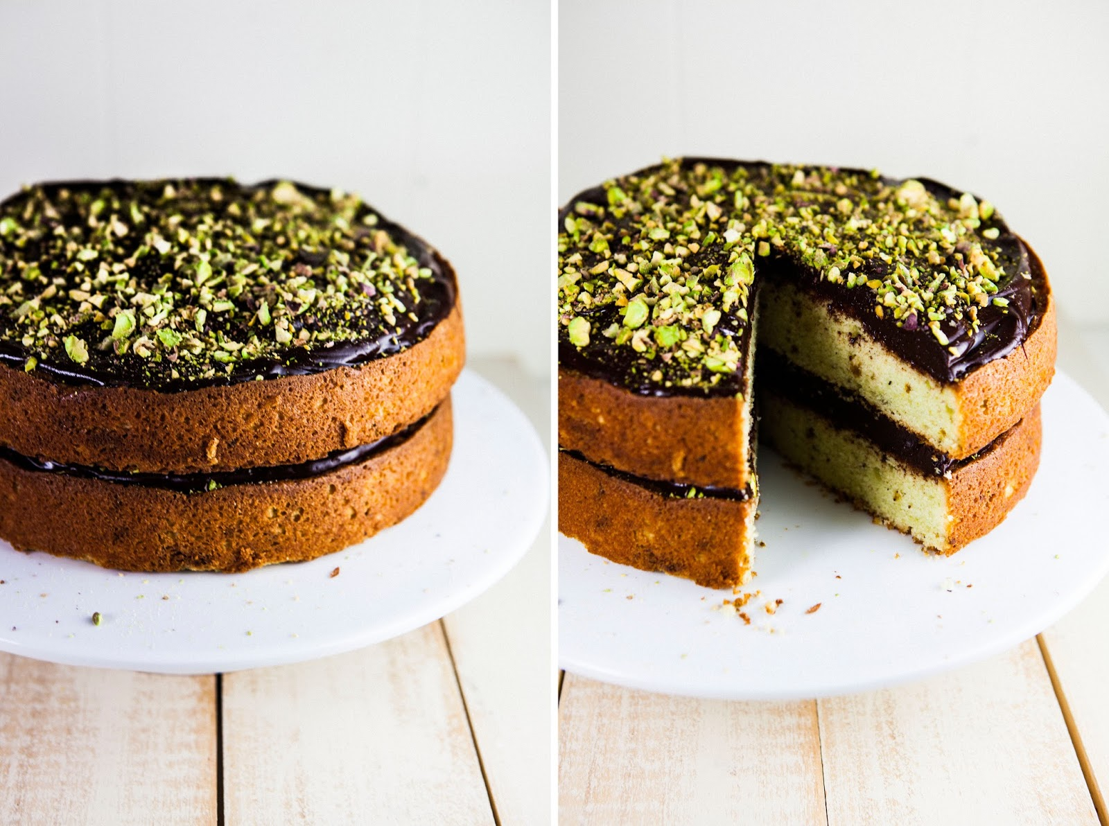 Chocolate and Pistachio Cake - hummingbird high || a desserts and ...