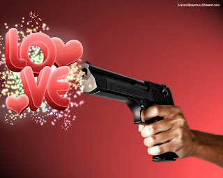 Shooting with Love Love Wallpaper