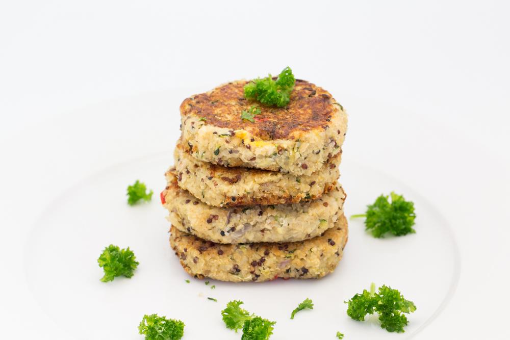 Hovkonditorn: Cheese stuffed Quinoa Veggie Burgers