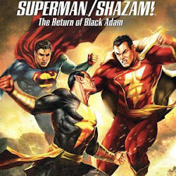 Poster Superman/Shazam!: The Return of Black Adam 2010