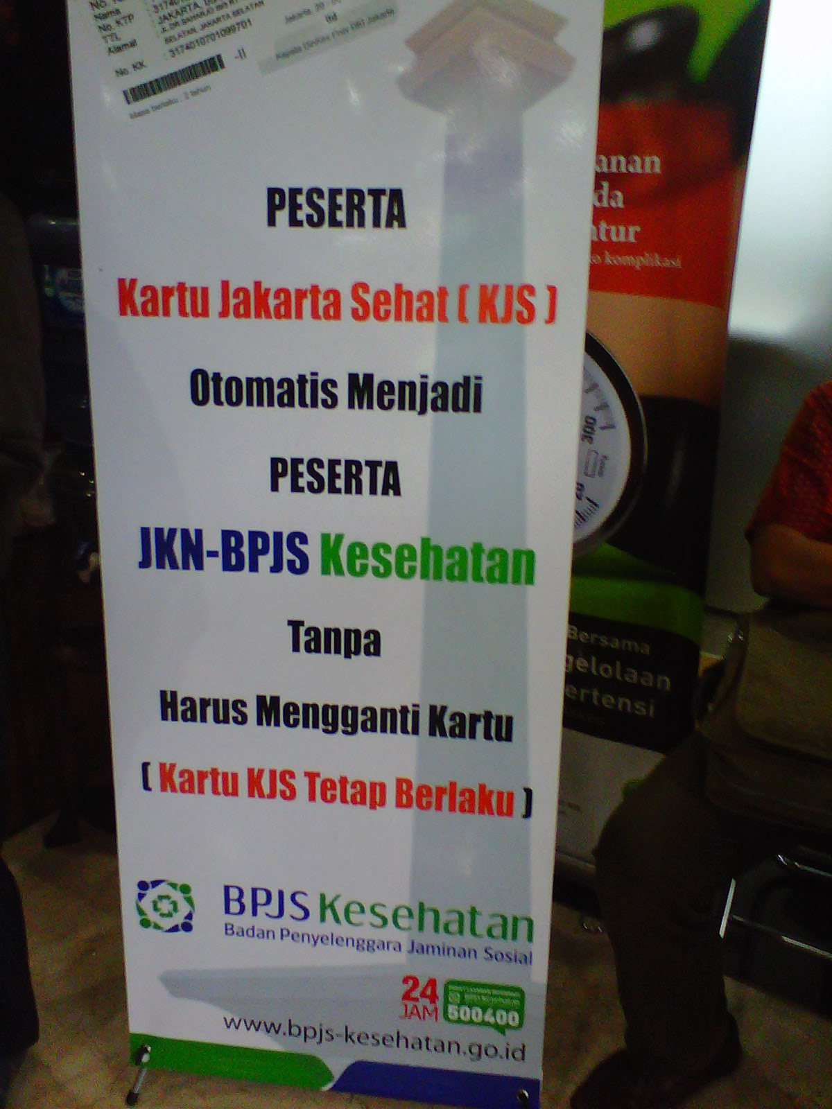 Kartu Jakarta Sehat menjadi JKN - BPJS Kesehatan
