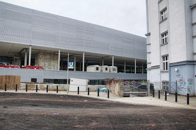 Baustelle BMW Haupstadtniederlassung in Berlin, Masurenallee 8-14, 14057 Berlin, 02.01.2014