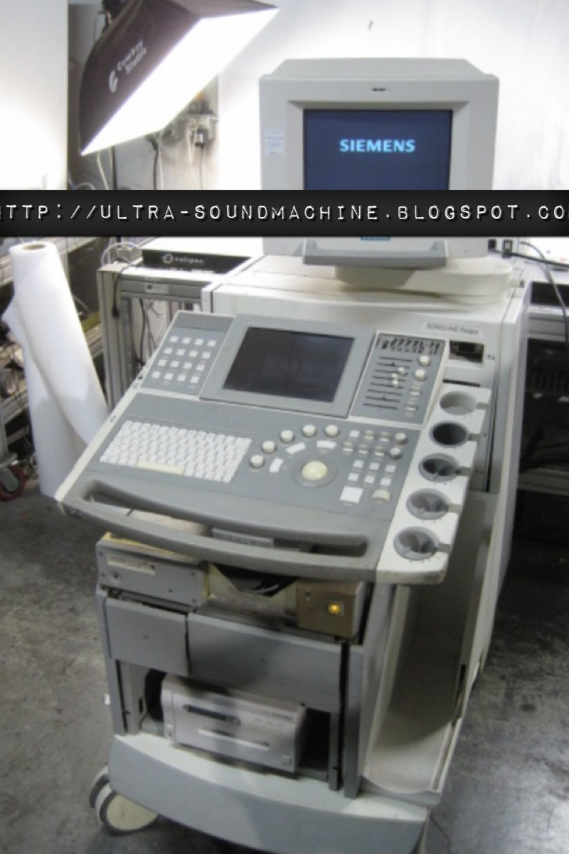 ultra sound machine  siemens elegra ultrasound machine