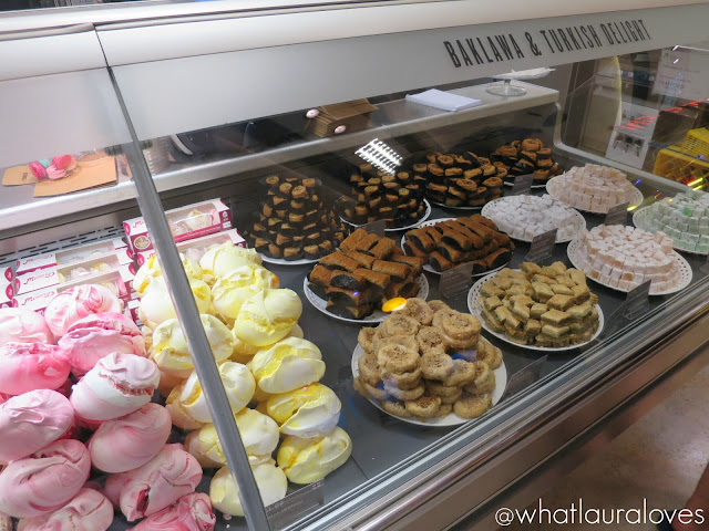 Selfridges Trafford Centre Foodhall Baklawa and Turkish Delight