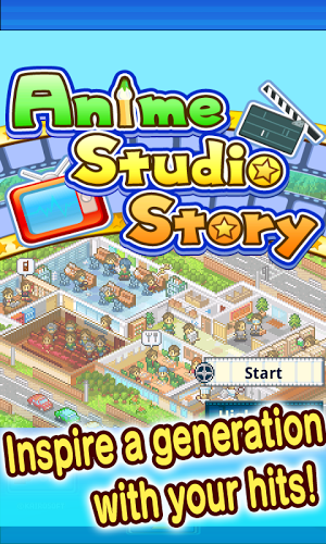 Anime Studio Story Gameplay Android