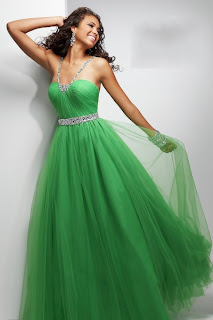 Yeşil Abiye Elbise Modelleri