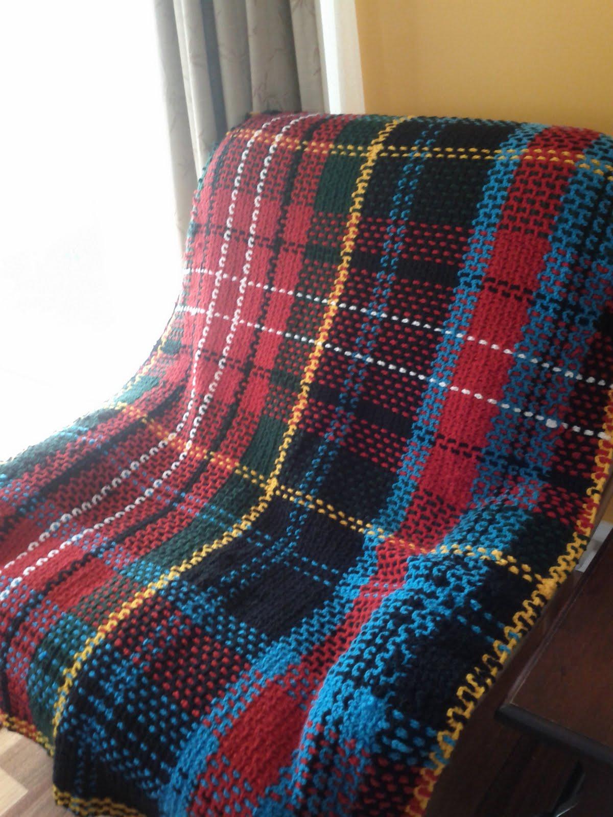 Free Crochet Patterns Tartan Rugs : Lacy froth: 15 Caledonian Tartan rug