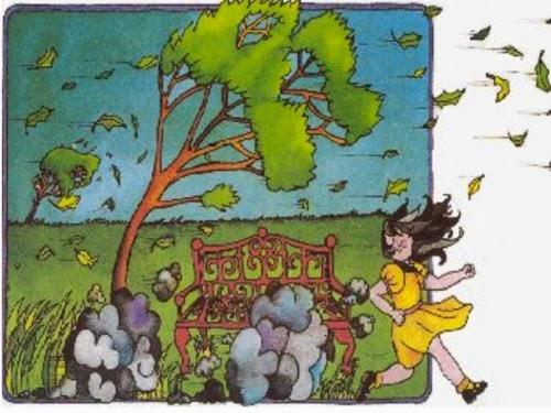 Lecturas para pequeños, niños y niñas.: El viento