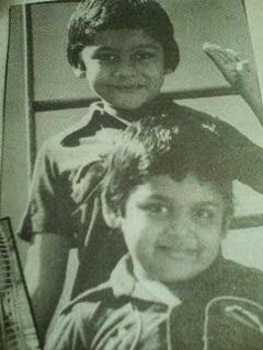 Karthik childhood