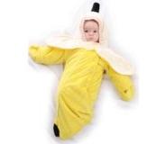 fantasia para bebê banana