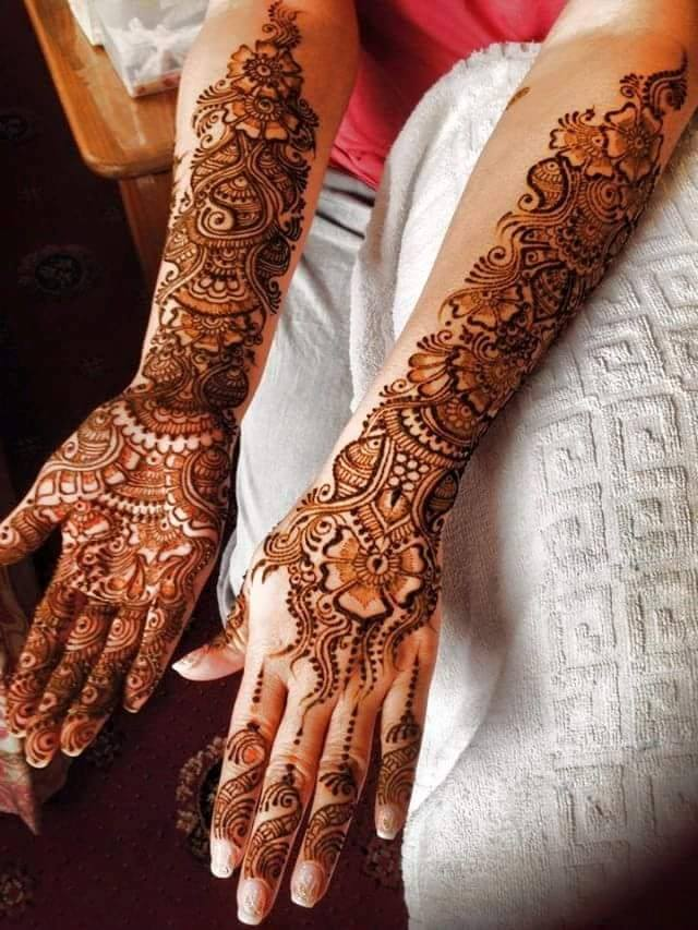 Mehndi Party : Latest party mehndi designs stylish pakistani
