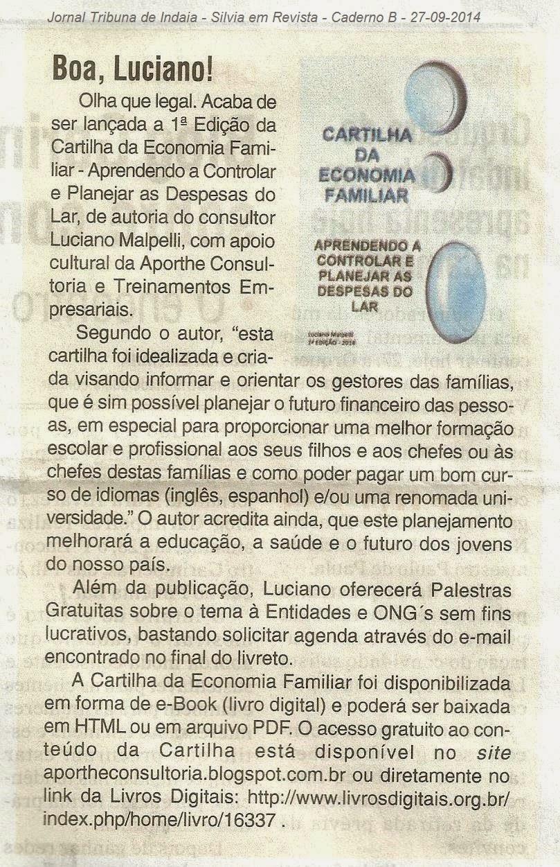 Jornal Tribuna de Indaiá - 27/09/2014