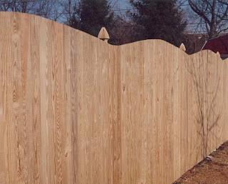 Деревянный забор. Фото 65