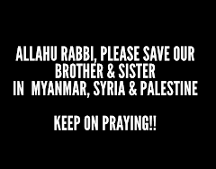 keep on praying for them