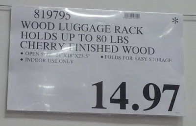 Deal for the Order Organizing Systems Luggage Rack at Costco