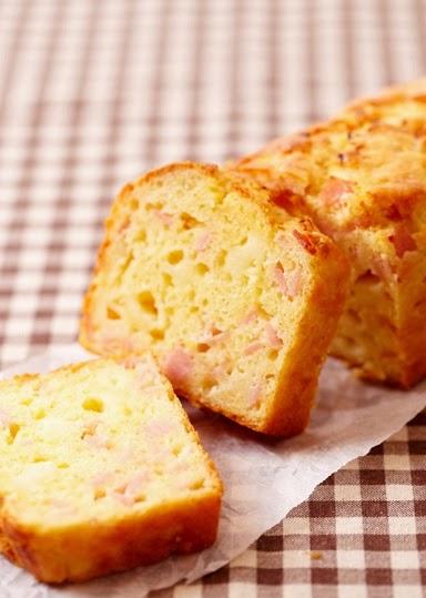 torta salata al prosciutto / ham cake