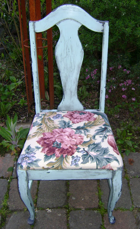 shabby chic chair #1