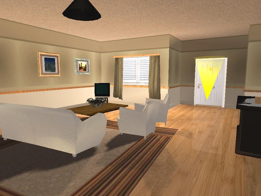 Gta mods nova casa do cj para gta san andreas for Casa moderna gta sa