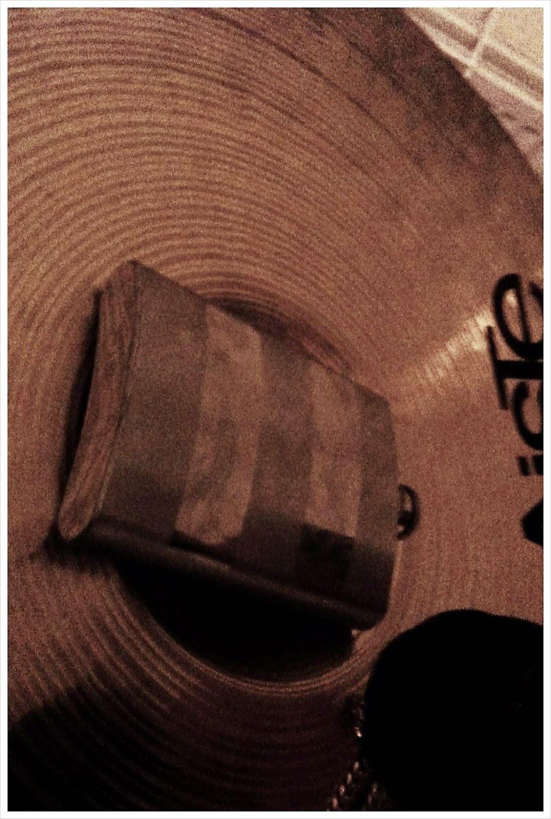 Hop flask and cymbal