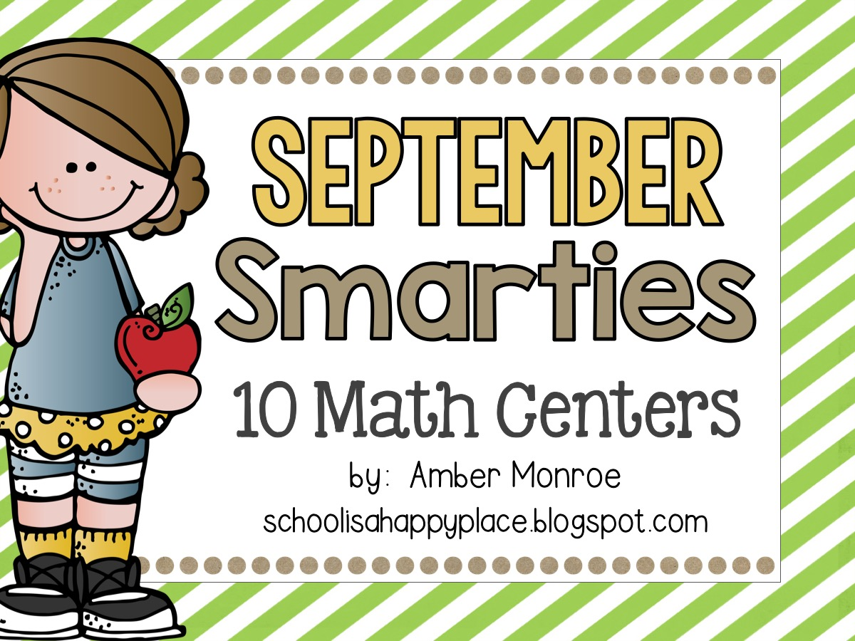 Math Centers for September