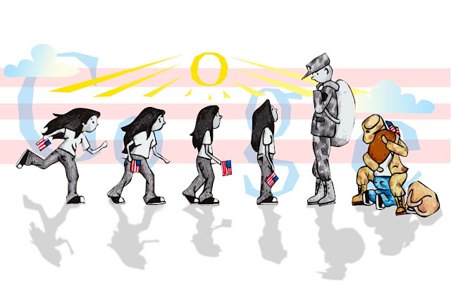 """Coming Home"" por Sabrina Brady of Spart, Doodle 4 Google competition"