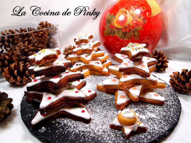 Galletas De Turron Arbolitos De Navidad
