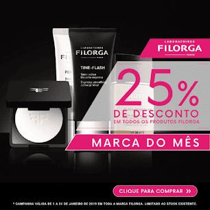 Marca do Mês | Janeiro | FILORGA -25% em TODOS os produtos