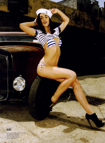 Hilary Rhoda Pin Up