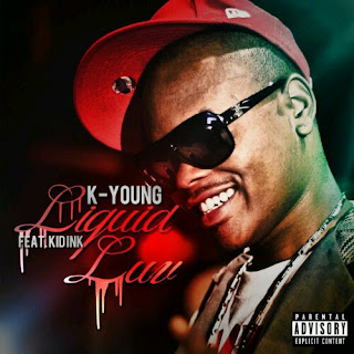 K Young's Liquid Luv Cover with Kid Ink
