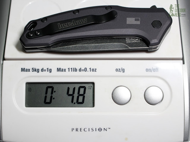 Kershaw Link EDC Pocket Knife - On Scale