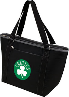 Picnic Time NBA Boston Celtics  Topanga Beach Tote Bag
