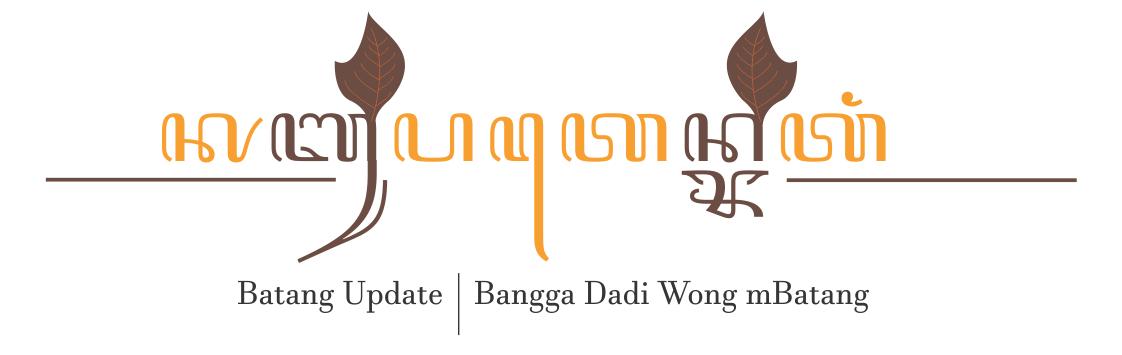 Batang Update | Bangga Dadi Wong Mbatang
