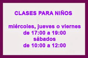 CLASES PARA NIÑOS
