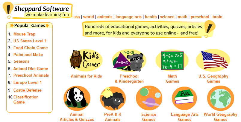 Online Games - Medical Terminology