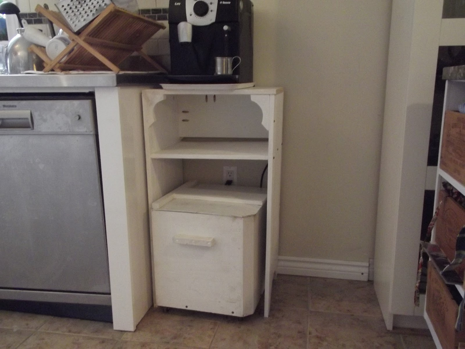 coffee machine stand