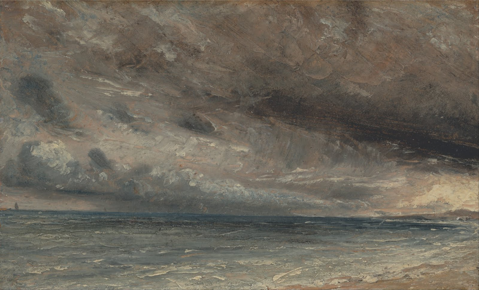 Stormy Sea, Brighton