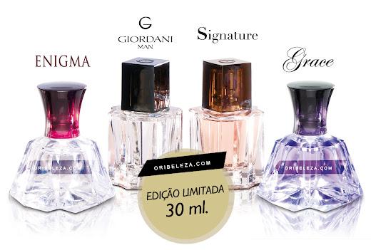 Os seus perfumes favoritos em edição limitada de 30 ml.