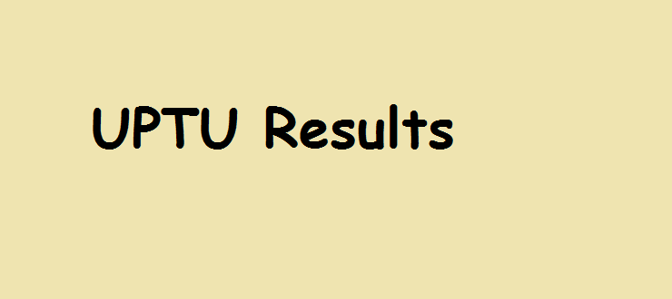 UPTU Even Semester Results 2014