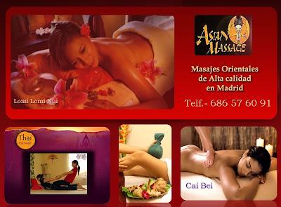 Masajes en Madrid Xiao Ying