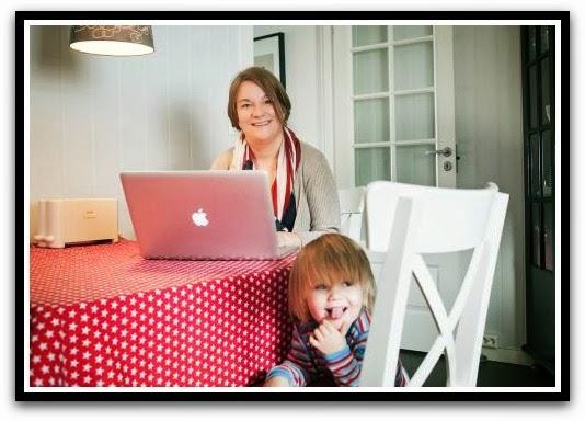 Følg gjerne min mammablogg også