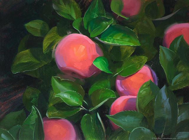 Apple Harvest by Rob Rey - robreyfineart.com